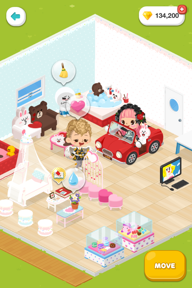 "Avatar Communication Service ""LINE Play"" is now available ..."