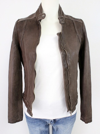 NO COLLAR LEATHER JACKET1